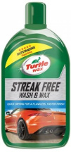 Автошампунь Turtle Wax Streak Free Wash 0.5 л